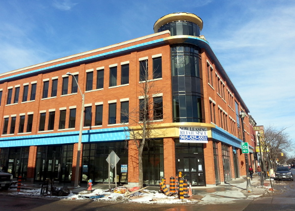 New three-storey commercial building at James and Vine (RTH file photo)