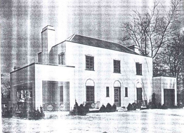 1 St. James Place in 1936 (Image Credit: Canadian Homes and Gardens, Januray/February 1936)