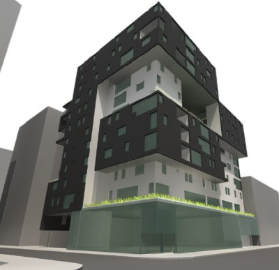 Diagram of planned affordable housing at 60 Richmond St. E., Toronto