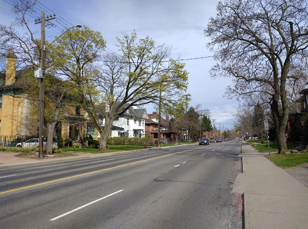 Aberdeen Avenue during PM rush hour (RTH file photo)