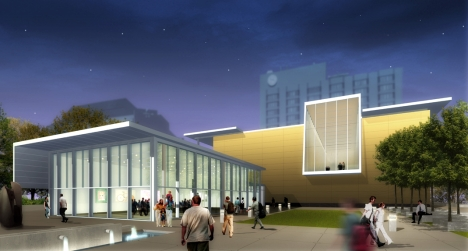 Artist's Rendition of the New Art Gallery of Hamilton exterior (Credit: Art Gallery of Hamilton)