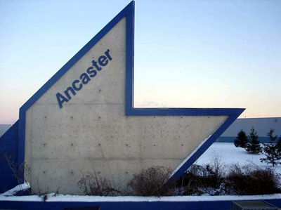 Ancaster sign