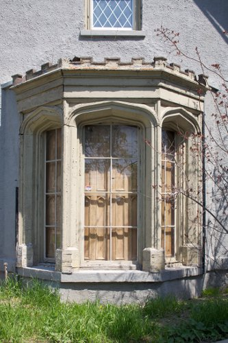 Auchmar Hamilton Exterior Bay Window Detail