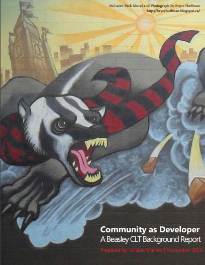 Cover of Maxted's Community as Developer (November 2013)