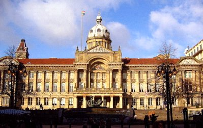 Figure 2: Birmingham's Council House (1879). A gothic design was also considered. (Image Source: Wikipedia)