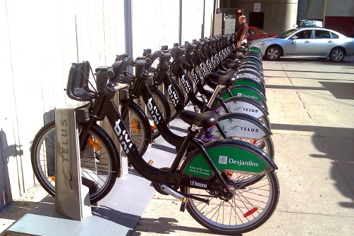 Toronto Bixi station in 2011 (RTH file photo)