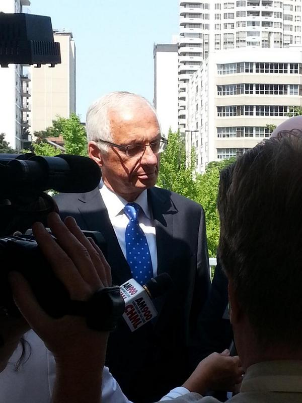 Hamilton Mayor Bob Bratina