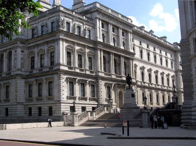 Figure 4: Britain's Foreign Office, built in Victorian Italianate style. (Image Source: Wikipedia)