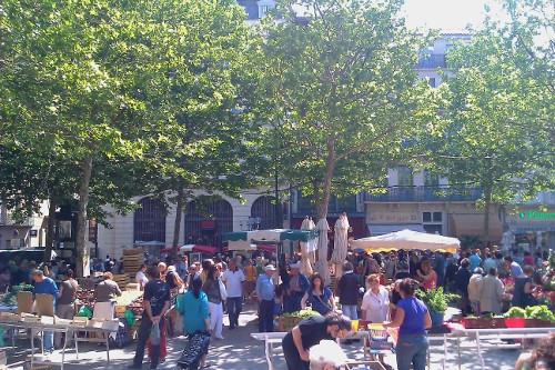 Saturday Market in Place Carnot