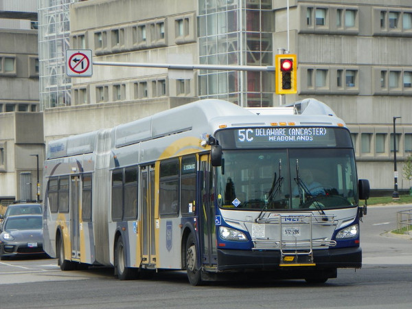 HSR articulated bus (Image Credit: Chris Whitfield)