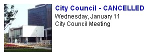 City Council - Cancelled