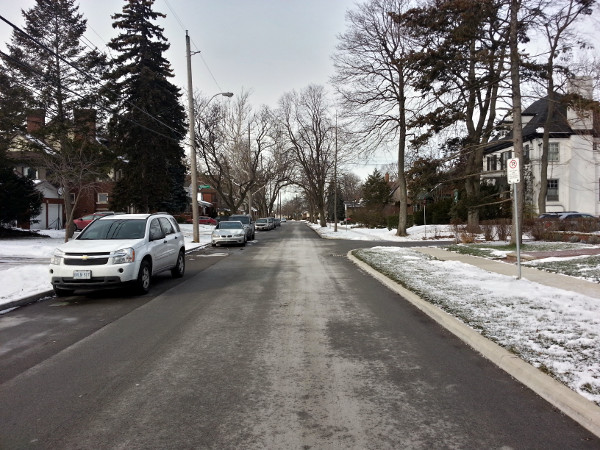 Inverness Avenue West of Upper James