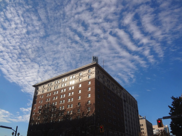 The Connaught building sits vacant, waiting for redevelopment (RTH file photo)