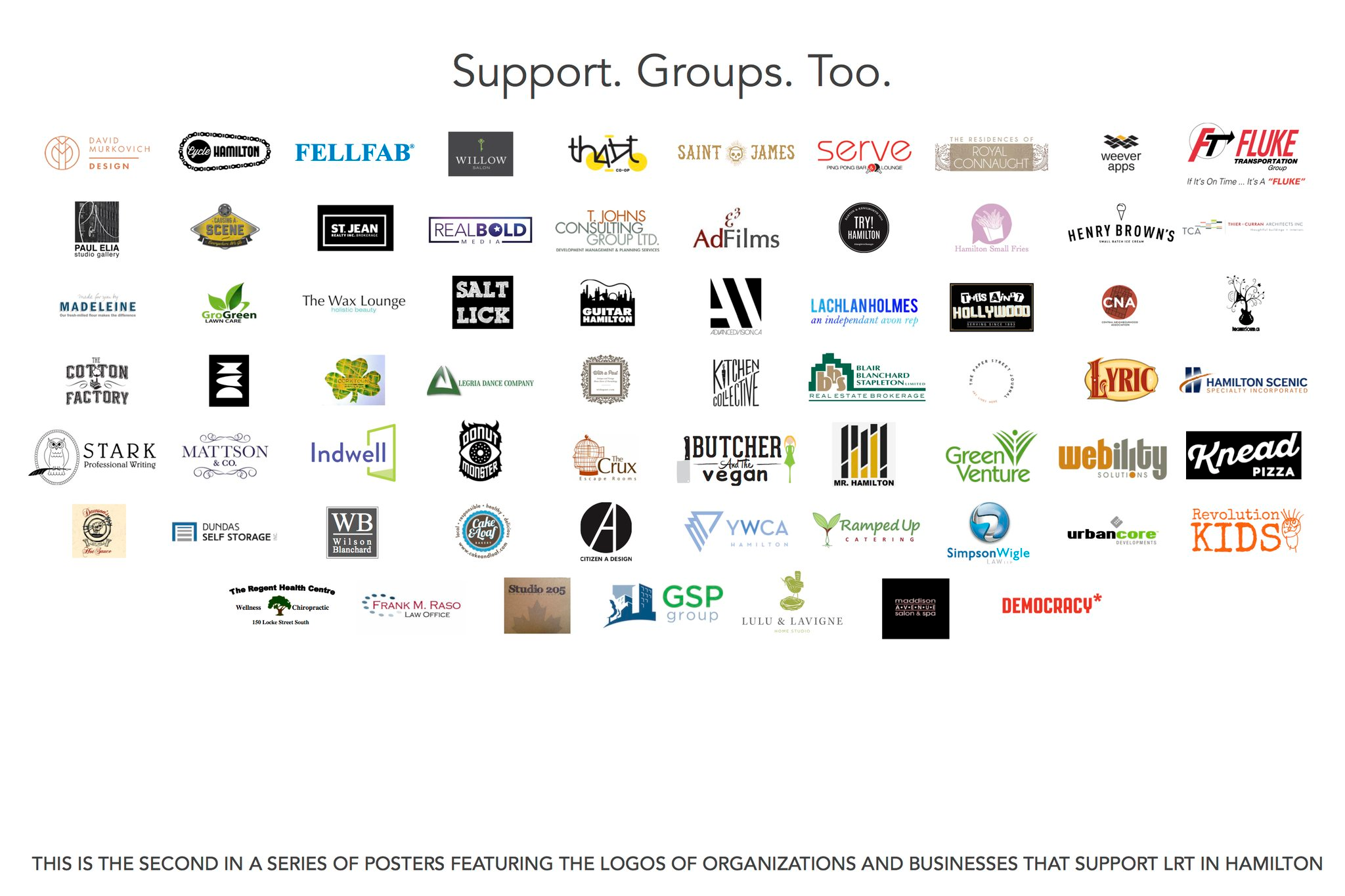 Support. Groups. Too.