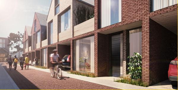 Image 7: Lane-oriented rowhouses designed with flexibility in mind in 6m or 9m modules