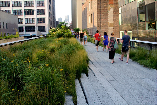 High Line linear park, New York City