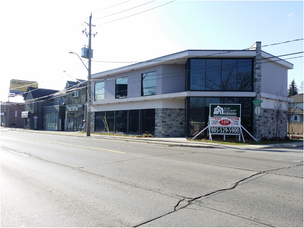 Commercial development, Upper James and Queensdale Avenue West