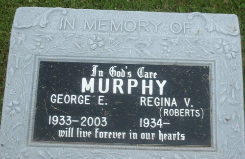 George's Tombstone
