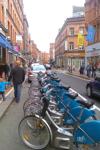 Dublin Bike share station (RTH file photo)