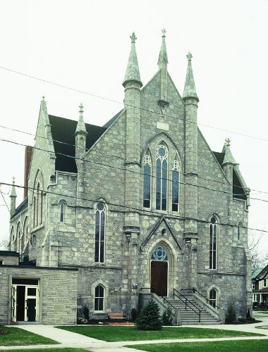 Fig. 4. Guelph, Second Wesleyan (now Dublin Street United) Church, facade.