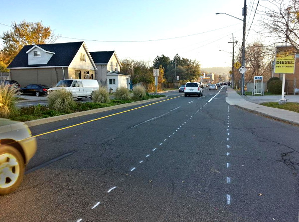 Southbound Dundurn bike lane will start right at Main