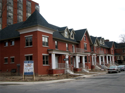 Durand Park - a small successful infill development