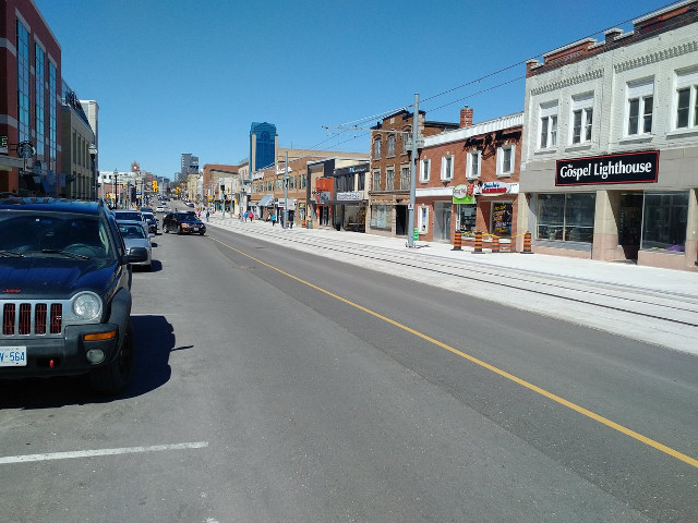 LRT road reconstruction in Kitchener-Waterloo