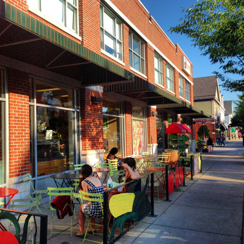 Patio at Lexington food Co-Op