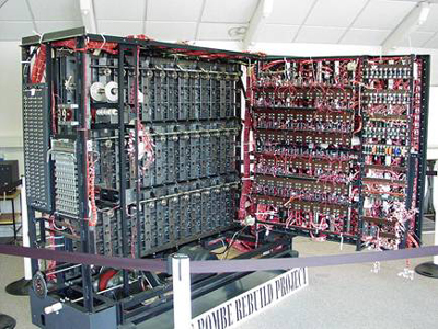 Rebuilt version of Turing's Bombe (Image Credit: Wikipedia)