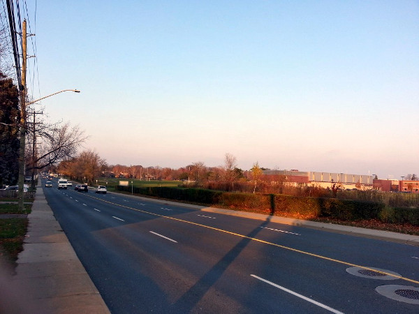 Garth Street during evening rush hour (RTH file photo)