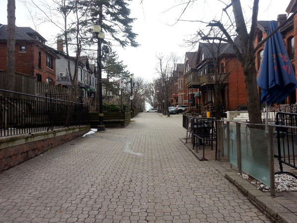 George Street in Hess Village (RTH file photo)