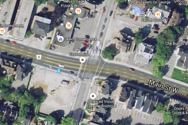 Main and Queen (Image Credit: Google Maps)