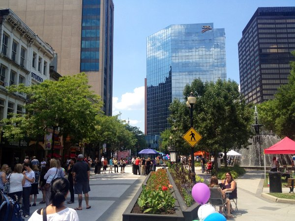 Gore Park overview. Let's extend it to the Connaught before 2015
