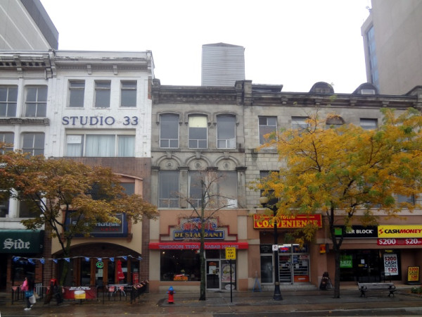 18-28 King Street East, slated for demolition (RTH file photo)