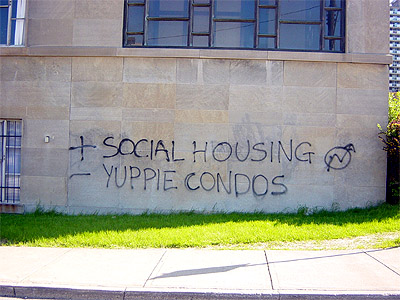 + Social Housing, - Yuppie Condos