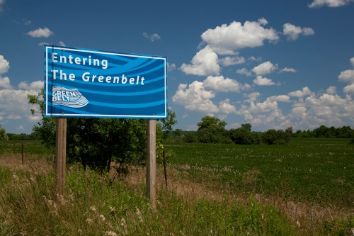Greenbelt sign (RTH file photo)