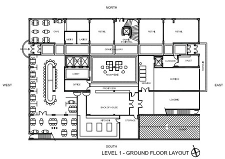 Hamilton Grand Layout Level 1