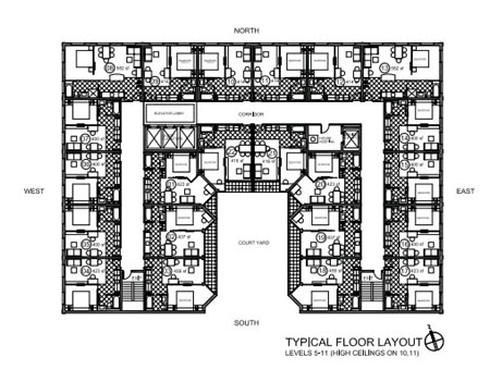 Hamilton Grand Layout Level 5-11