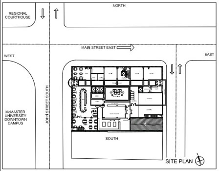 Hamilton Grand Layout Site Plan