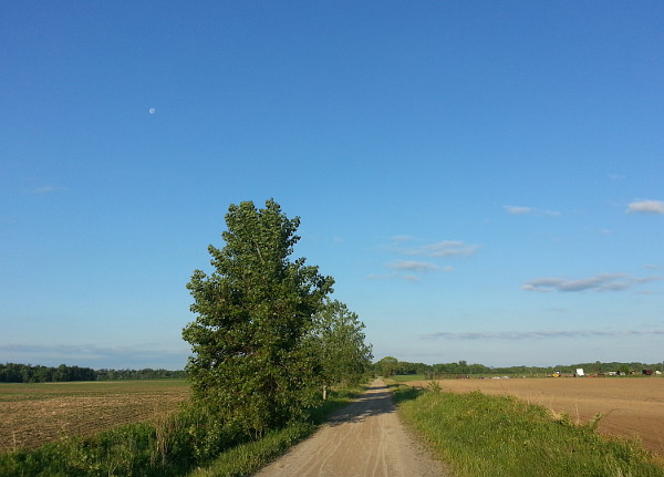 Farms lining the Rail Trail in Hamilton (RTH file photo)