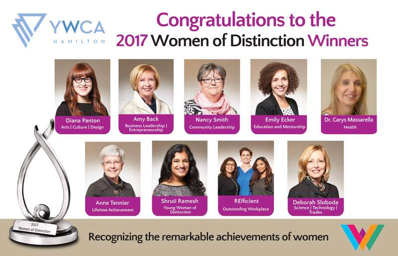 Women of Distinction Award winners, 2017