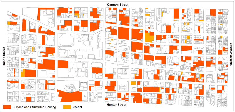 Downtown Hamilton Parking (click image to view larger