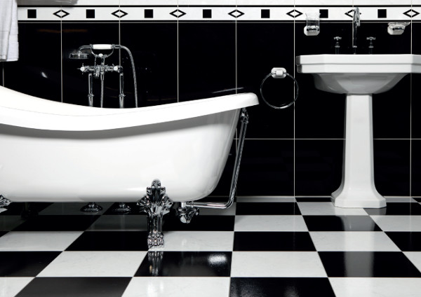 Consider how many objects were cast for this bathroom (2011) (Image Credit: Schiffer Publishing)