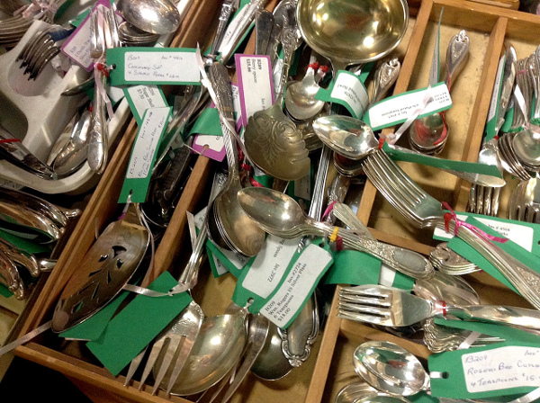 Find silver plate or solid silver