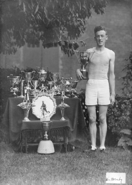 Walter Hornby, 1918-1989. Winner of the Around the Bay Race in 1937. Collection of the Local History & Archives, Hamilton Public Library.
