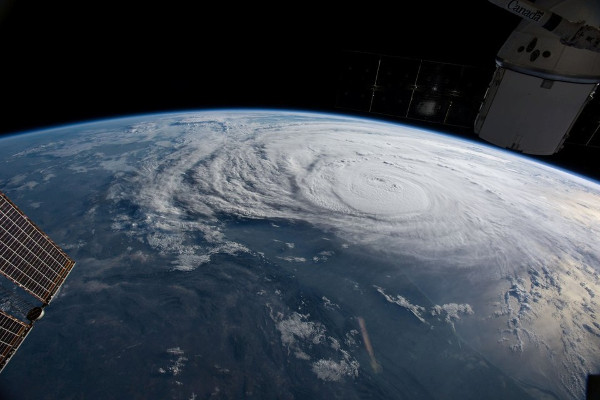 Hurricane Harvey, view from the International Space Station (Image Credit: NASA)