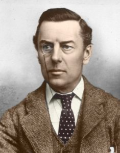Figure 1: Joseph Chamberlain (1836-1914). Mayor of Birmingham and pioneer of