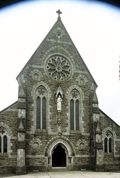 Fig. 2. Kilcullen (Co. Kildare), St Brigid's Roman Catholic Church, façade, J.J. McCarthy, 1869.