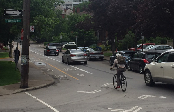 29th driver buzzed past a cyclist
