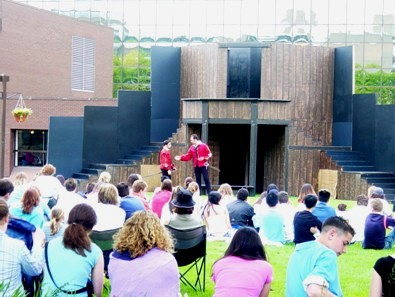 About 100 students enjoy Hamilton Urban Theatre's production of Romeo and Juliet